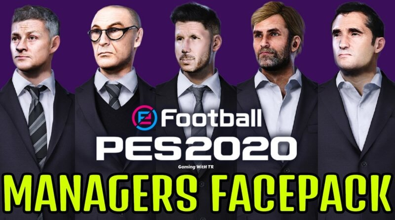 PES 2020 | MANAGERS FACEPACK