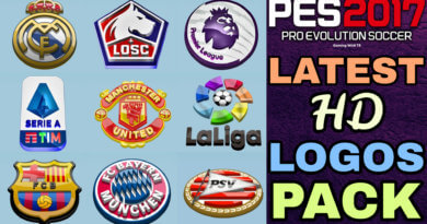 PES 2017   LATEST HD LOGOS PACK