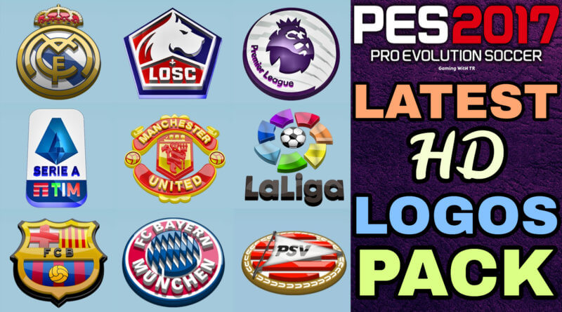 PES 2017 | LATEST HD LOGOS PACK