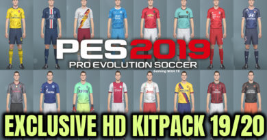 PES 2019 | EXCLUSIVE HD KITPACK 2019/2020