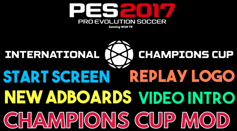 PES 2017 | CHAMPIONS CUP MOD | NEW ADBOARDS 2019