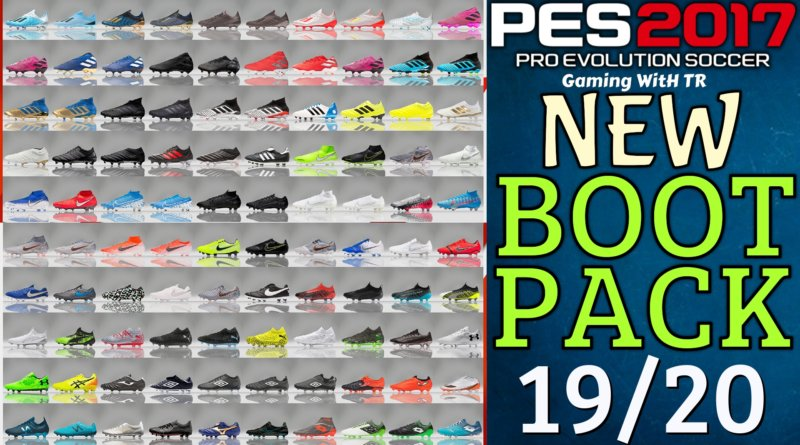 PES 2017 | NEW BOOTPACK 19/20 BY TISERA09