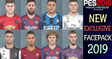 PES 2019 | NEW EXCLUSIVE FACEPACK