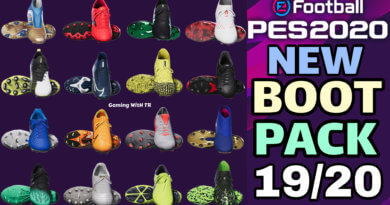 PES 2020 | NEW BOOTPACK 2019/2020