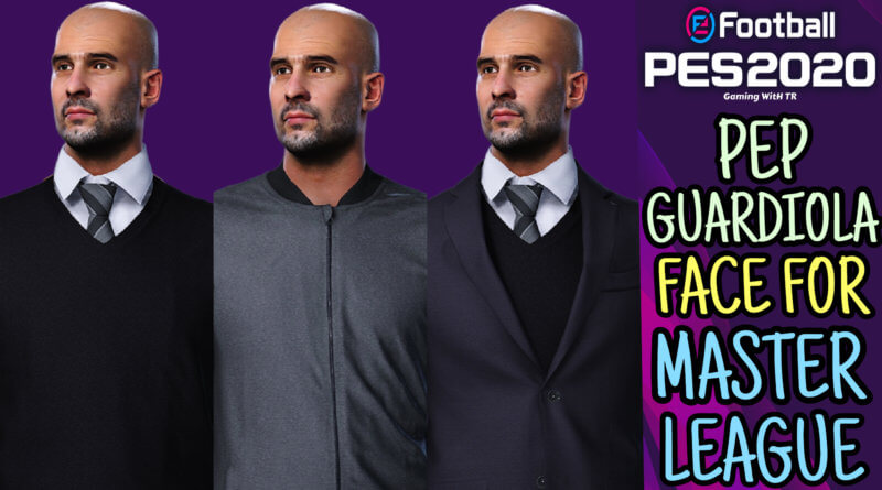 PES 2020 | PEP GUARDIOLA FACE FOR MASTER LEAGUE