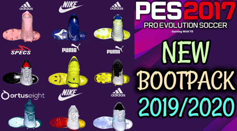 PES 2017 | NEW BOOTPACK 19/20