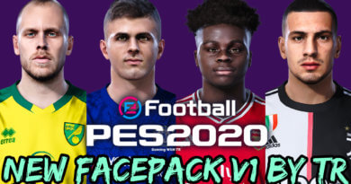 PES 2020   NEW FACEPACK V1 BY TR