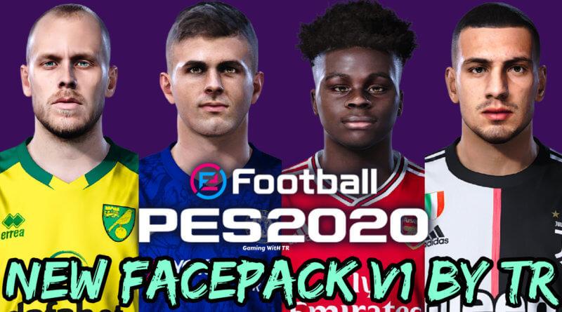 PES 2020 | NEW FACEPACK V1 BY TR