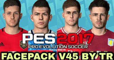 PES 2017   FACEPACK V45 BY TR
