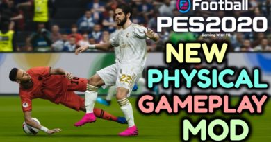 PES 2020   NEW PHYSICAL GAMEPLAY MOD