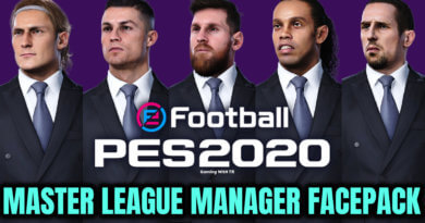PES 2020 | MASTER LEAGUE MANAGER FACEPACK