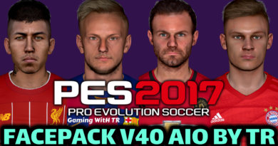 PES 2017 | FACEPACK V40 AIO BY TR