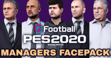 PES 2020   MANAGERS FACEPACK