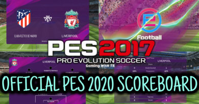 PES 2017 | OFFICIAL PES 2020 SCOREBOARD