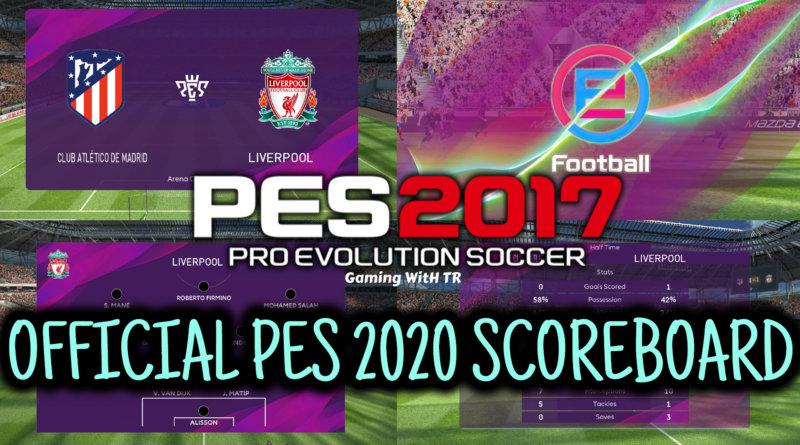PES 2017 | OFFICIAL PES 2020 SCOREBOARD