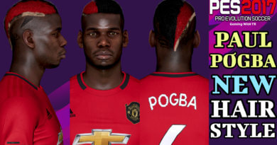 PES 2017 | PAUL POGBA | NEW HAIRSTYLE & NEW FACE 2019