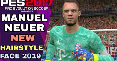 PES 2017 | MANUEL NEUER | NEW HAIRSTYLE & NEW FACE 2019
