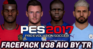 PES 2017   FACEPACK V38 AIO BY TR