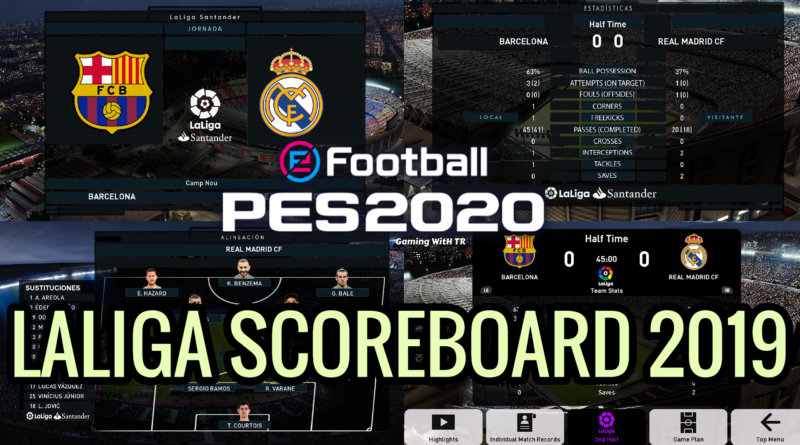 PES 2020 | LALIGA SCOREBOARD 2019 | PREVIEW BY TR