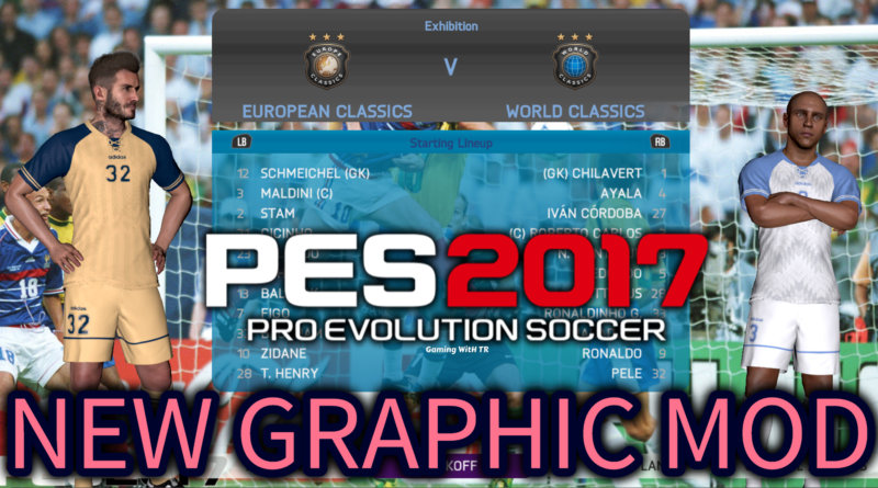 PES 2017   NEW GRAPHIC MOD   WORLD CUP 98 THEME