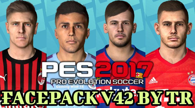 PES 2017   FACEPACK V42 BY TR
