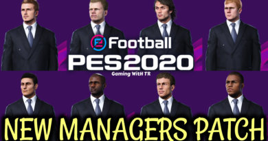 PES 2020 | NEW MANAGERS PATCH