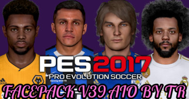 PES 2017 | FACEPACK V39 AIO BY TR