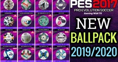 PES 2017 | NEW BALLPACK 19/20