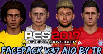 PES 2017 | FACEPACK V37 AIO BY TR