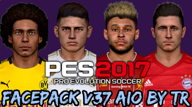 PES 2017   FACEPACK V37 AIO BY TR