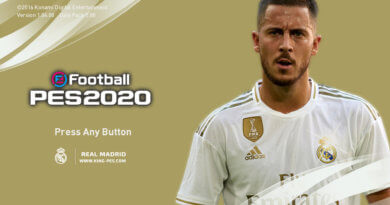 PES 2017 | REAL MADRID | PES 2020 GRAPHIC MENU