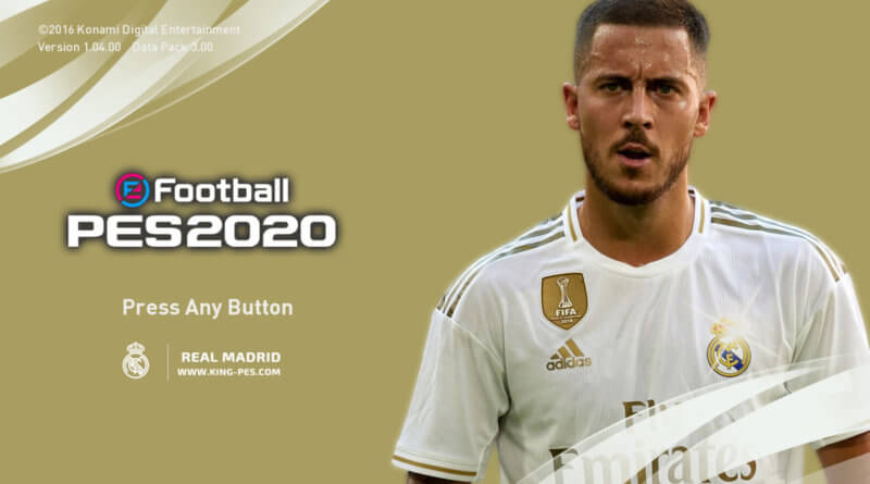 PES 2017   REAL MADRID   PES 2020 GRAPHIC MENU