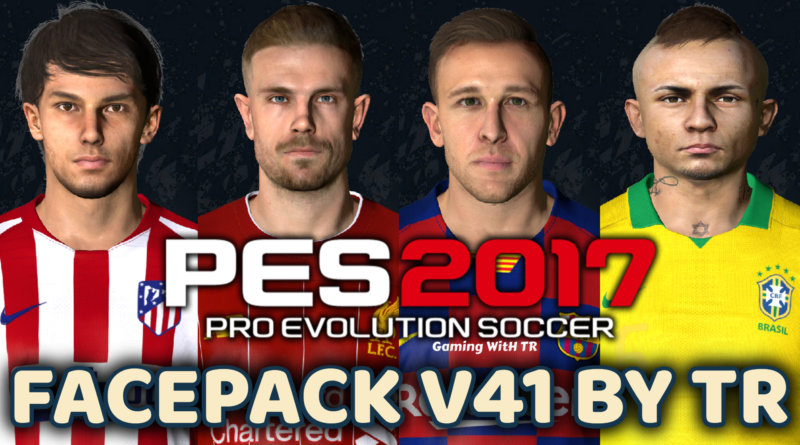 PES 2017 | FACEPACK V41 BY TR