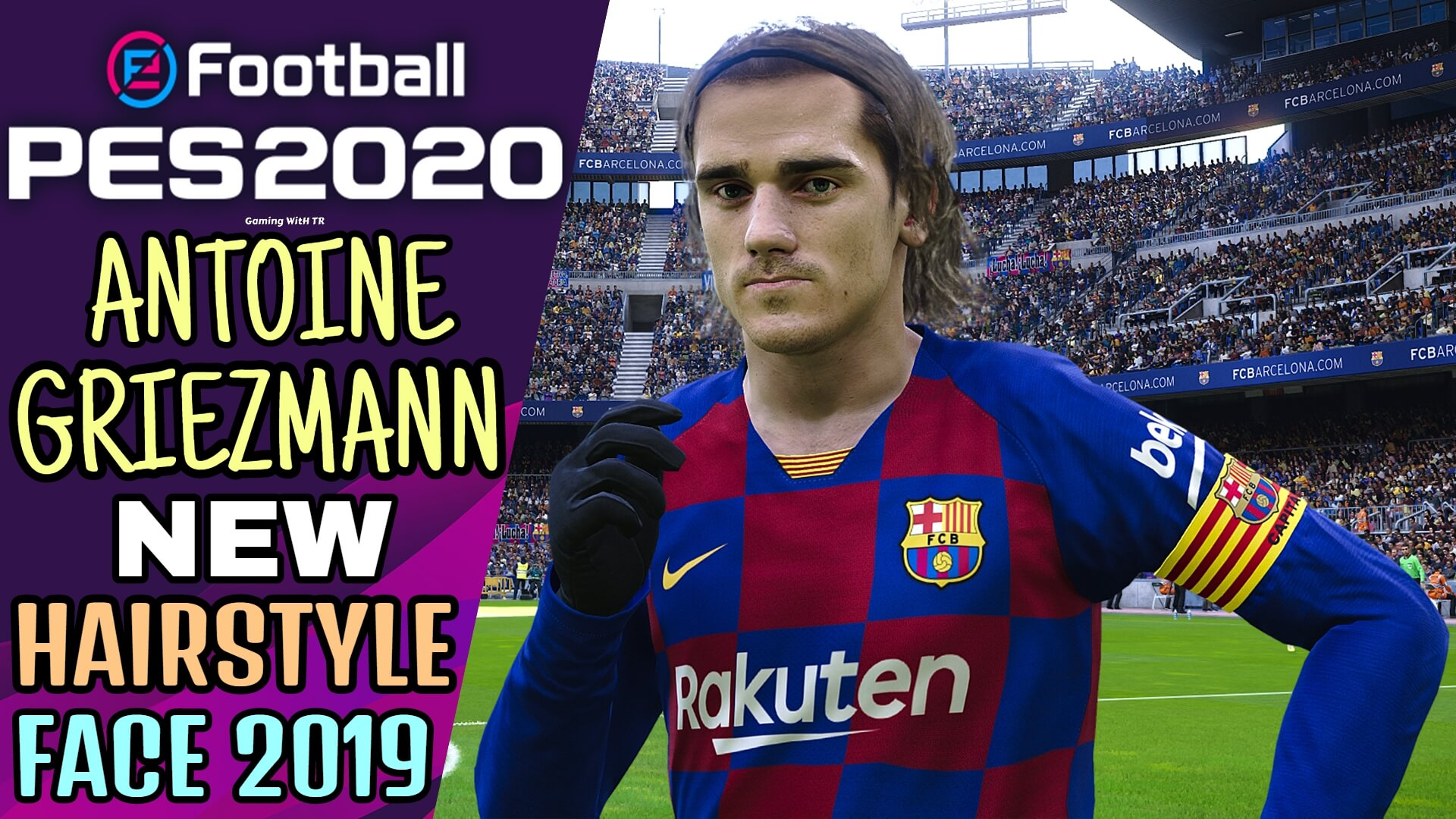 Pes 2020 Antoine Griezmann New Hairstyle New Face 2019 Pes 2020 Gaming With Tr