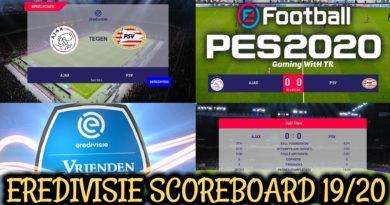 PES 2020 | EREDIVISIE SCOREBOARD 2019/2020