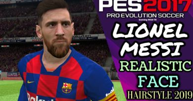 PES 2017 | LIONEL MESSI | REALISTIC FACE & HAIRSTYLE 2019