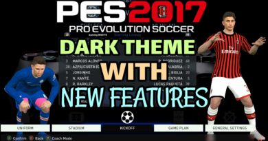 PES 2017 | DARK THEME WITH NEW FEATURES