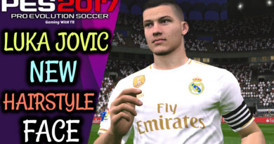 PES 2017 | LUKA JOVIC | NEW HAIRSTYLE & NEW FACE