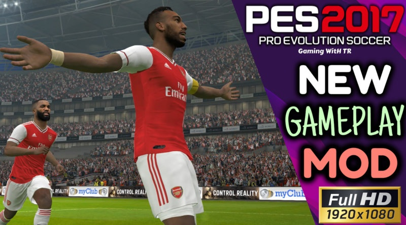PES 2017 | NEW GAMEPLAY MOD