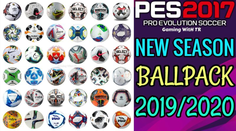PES 2017 | NEW SEASON BALLPACK 2019/2020 | PREVIEW BY TR