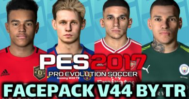PES 2017 | FACEPACK V44 BY TR