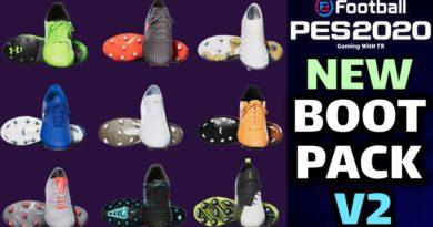 PES 2020 | NEW BOOTPACK V2