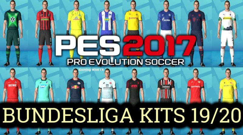 Pes 2017 Bundesliga Kits Season 2019 2020 Gaming With Tr