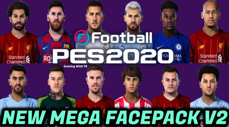 PES 2020 | NEW MEGA FACEPACK V2