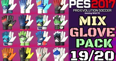 PES 2017 | MIX GLOVEPACK 2019/2020 | ALL IN ONE