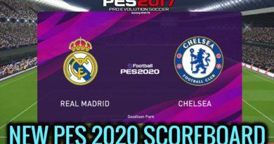 PES 2017 | NEW PES 2020 SCOREBOARD