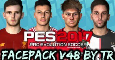 PES 2017 | FACEPACK V48 BY TR