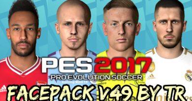 PES 2017   FACEPACK V49 BY TR