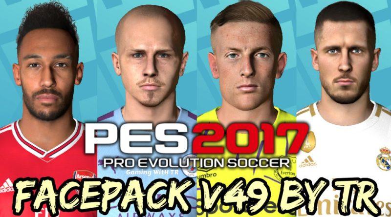 PES 2017 | FACEPACK V49 BY TR