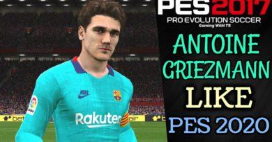 PES 2017 | ANTOINE GRIEZMANN FACE & HAIR LIKE PES 2020